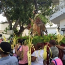 As tourists one day, the Dominican Republic missionaries found themselves among a throng of Christians celebrating Palm Sunday in their traditional ways.