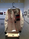 Alex Paczka took second place in Overall Originality for a jacket he created using nothing but U.S. postal Tyvek mailing envelopes.