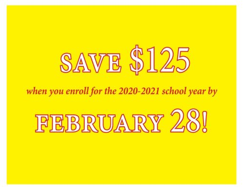 Save $125 – Enrollment Sale This Month Only!