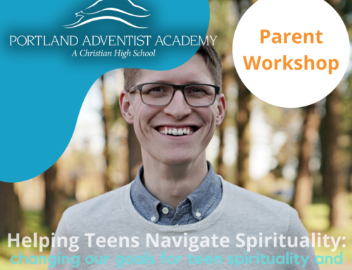 Replay the Parent Workshop: Helping Teens Navigate a Spiritual Path