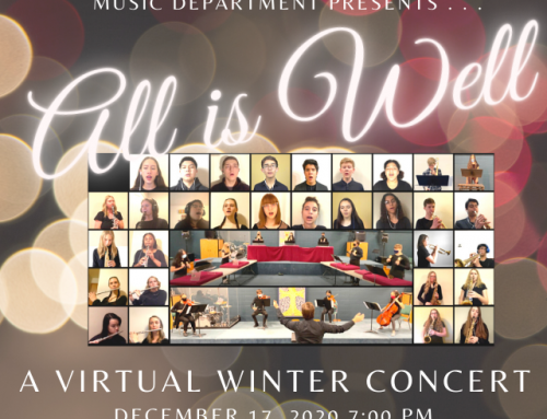 PAA's Winter Concert: A Magical & Virtual Experience!